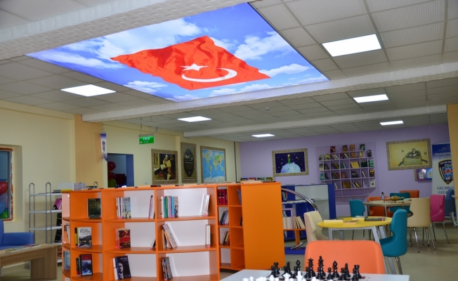 Şırnak'ta şehit polisin adı kütüphaneye verildi