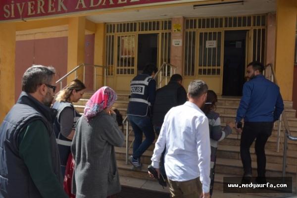 Siverek'te hırsızlık iddiası: 4 gözaltı