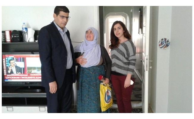 Suruç'ta şehit aileleri ziyaret edildi