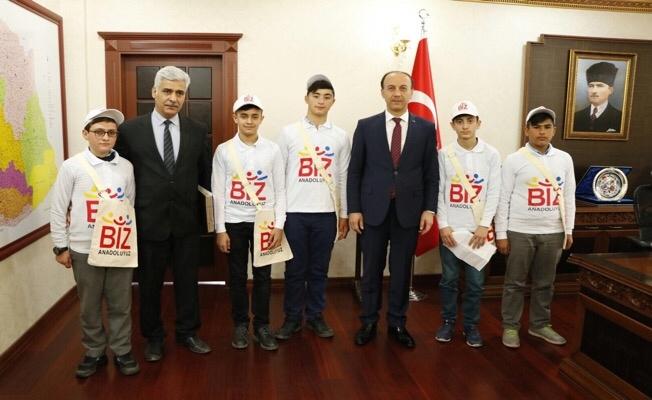 Urfalı öğrenciler Cumhurbaşkanı'nın davetine katılacaklar