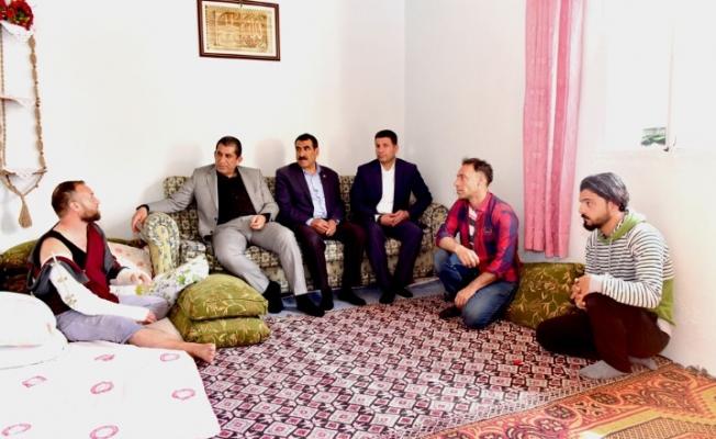 Başkan Atilla'dan Afrin Gazisine Ziyaret