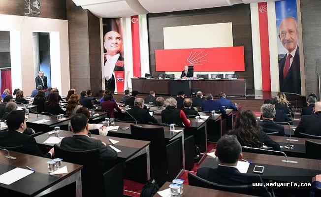 CHP Parti Meclisi Salı günü toplanacak