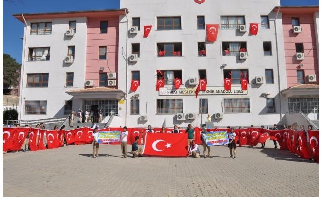 Eğridir'den Birecik'e Türk Bayrağı
