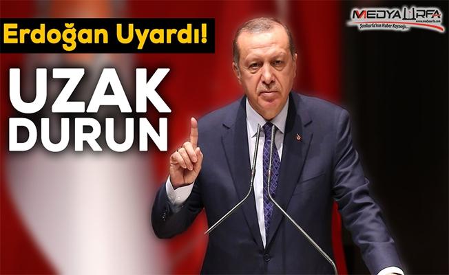 Erdoğan'dan teşkilatlara önemli uyarı!