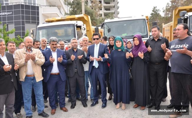 Halfeti'den Afrin'e insani yardım