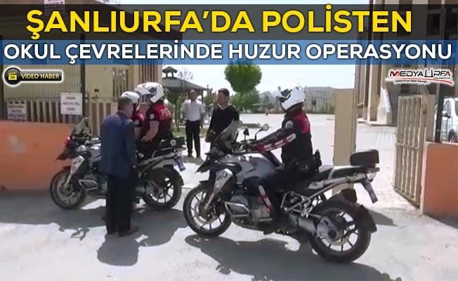 Şanlıurfa'da Polisten huzur operasyonu