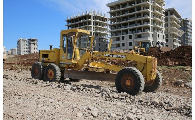 Seyrantepe'de yol çalışmaları sürüyor