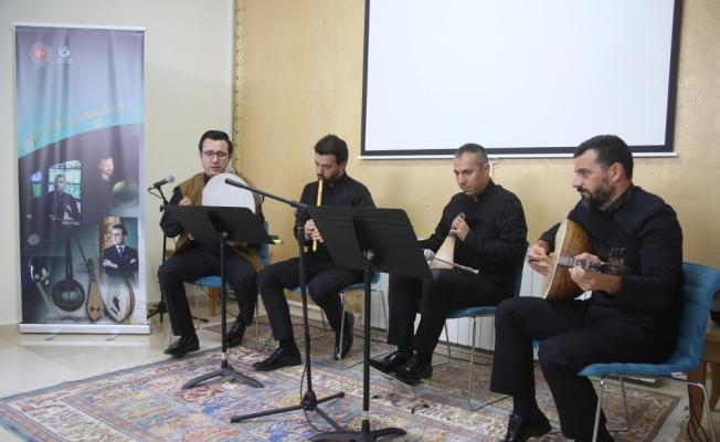 Türk sanatçılar Ramallah'ta tasavvuf müziği konseri verdi