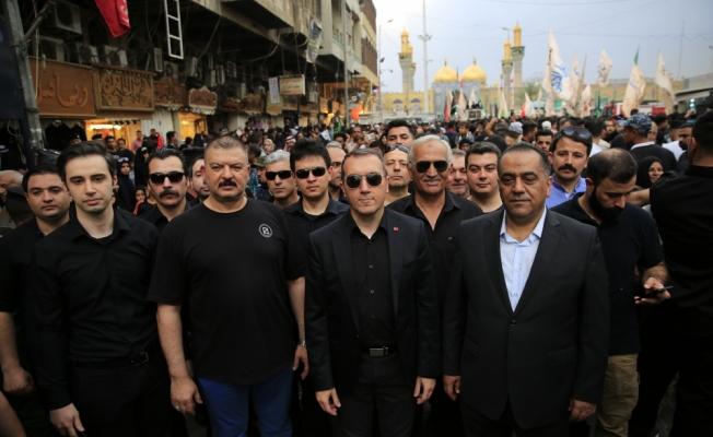 Türkiye'nin Bağdat Büyükelçisi, İmam Kazım'ı anma etkinliklerine katıldı