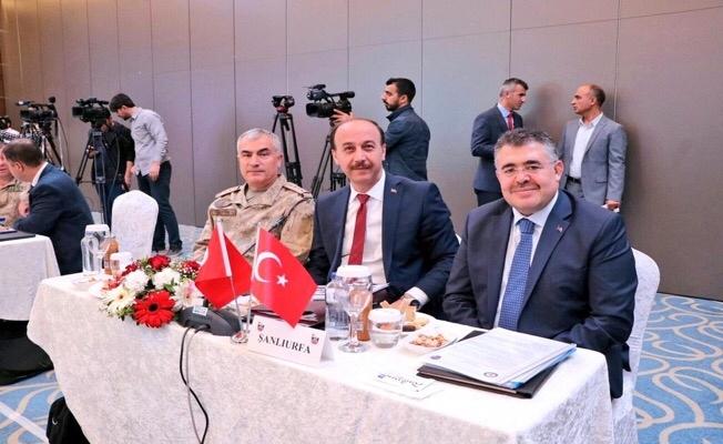 Vali Erin Diyarbakır'da Güvenlik toplantısına katıldı