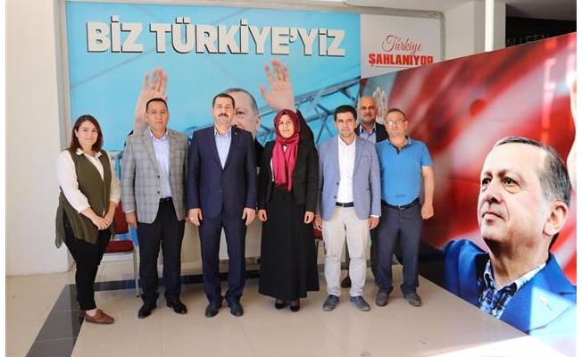 Baydilli'den AK Parti SKM'ya ziyaret
