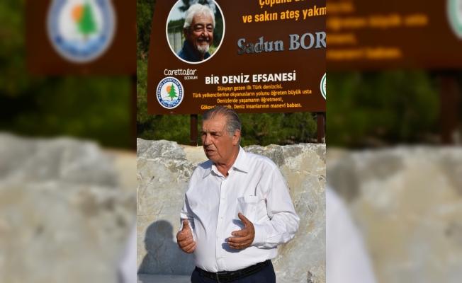 Türk denizci Boro için anıt