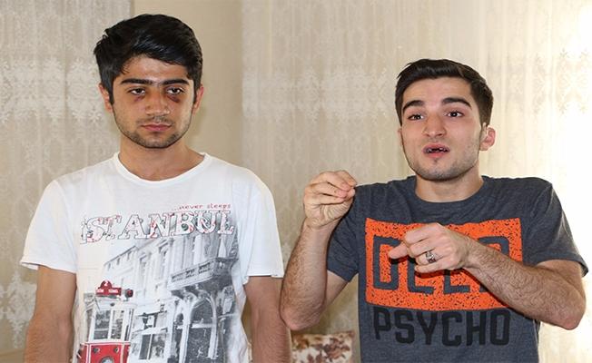 Urfa'da işitme engelli genç darp edildi