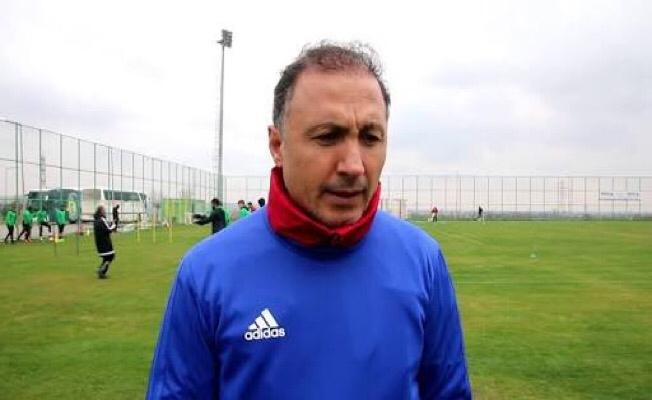 Urfaspor teknik direktörü istifa etti