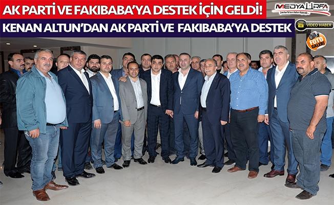 Altun ailesinden AK Parti'ye destek
