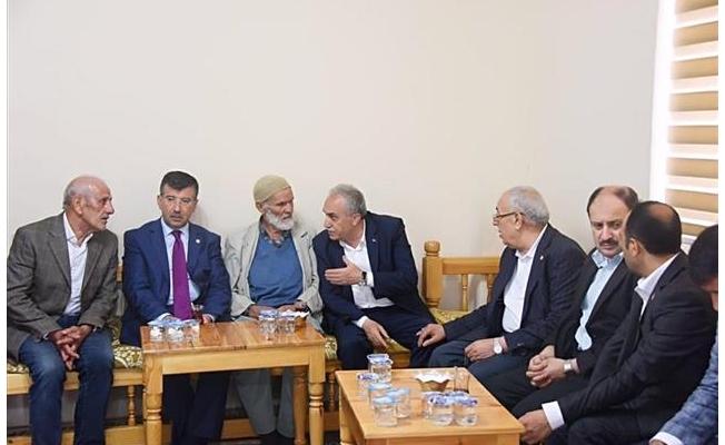 Bakan Fakıbaba, şehit ailesine taziye ziyareti