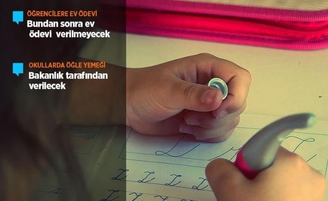 Bakan Yılmaz'dan 'ev ödevi' açıklaması