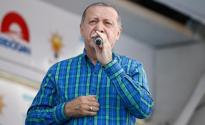 Erdoğan: Avrupa'da da sandıkları patlatın