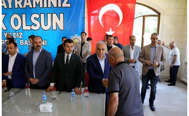 AK Parti Şanlıurfa'da bayramlaşma