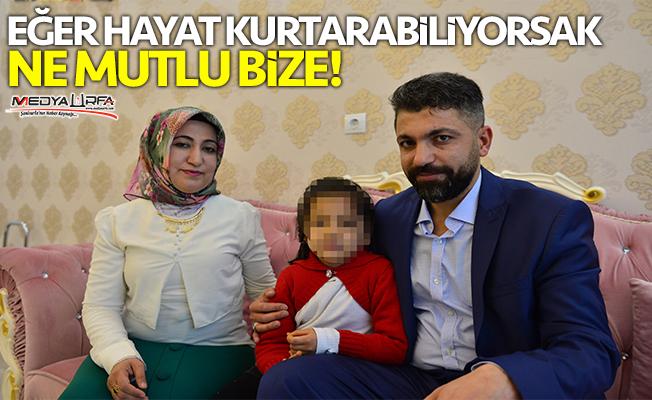 """""""Hayır"""" arayışıyla minik Zeynep'in koruyucu ailesi oldular"""
