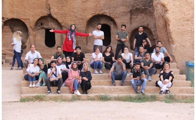 Urfalı öğrenciler Mardin'i gezdi