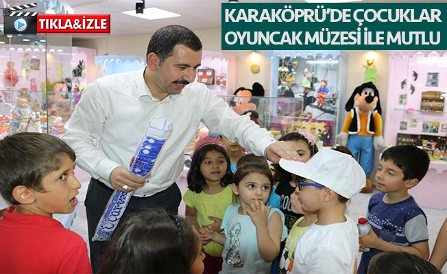 Başkan Baydilli miniklere oyuncak müzesini tanıttı