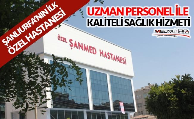 ŞANMED'de hizmet kalitesi artıyor
