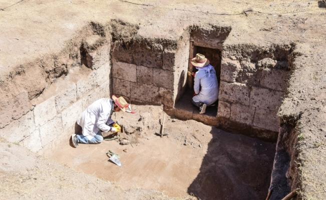 Selçuklu Meydan Mezarlığı'nda 178 oda mezar tespit edildi