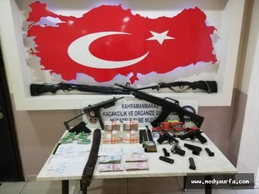 Suç örgütlerine operasyon: 7 gözaltı