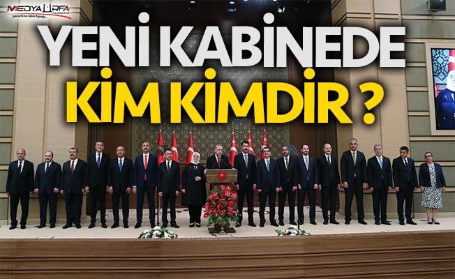 Yeni Kabinede kim kimdir ?
