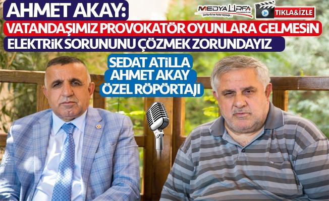 Ahmet Akay: İhale konularıyla işim olmaz