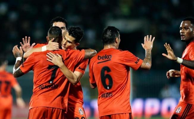 Beşiktaş deplasmandan avantajla döndü