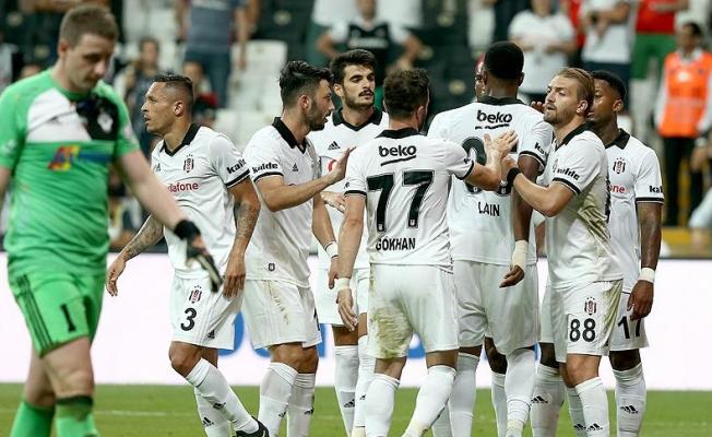 Beşiktaş'tan eleme turunda gol yağmuru