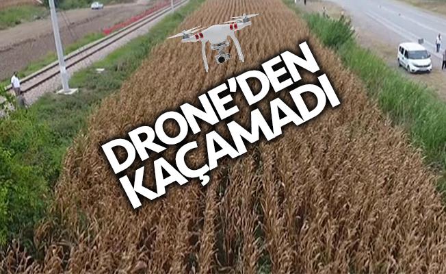 Cezaevi firarisi 'drone' yardımıyla yakalandı