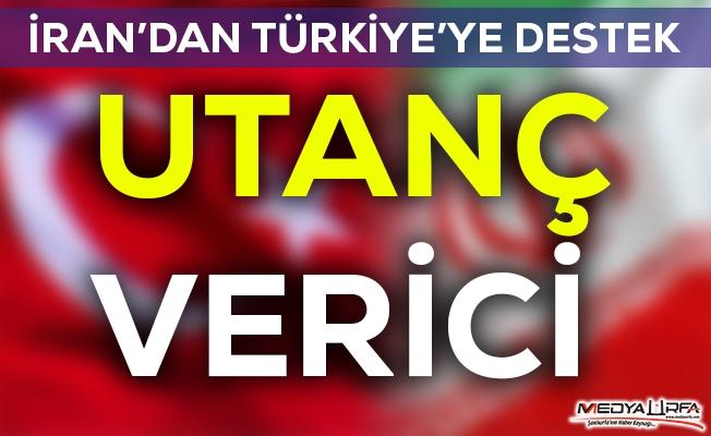 Komşu İran'dan Türkiye'ye destek