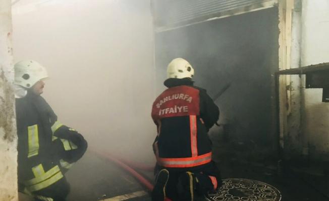 Kunduracılar Pazarında yangın