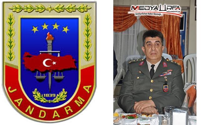 Şanlıurfa İl Jandarma Komutanı Değişti