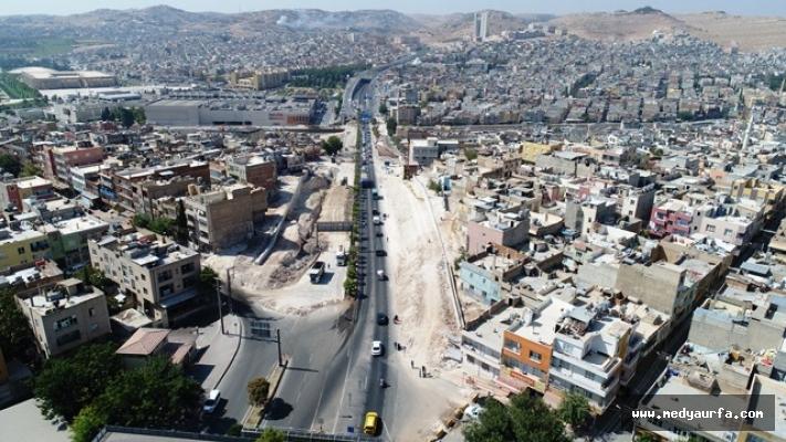 Karakoyun Köprülü Kavşağında Çalışmalar Sürüyor
