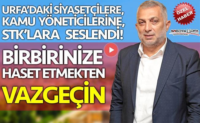 Metin Külünk, Urfa ziyaretini Sedat Atilla'ya değerlendirdi