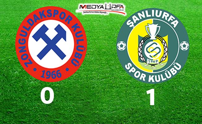 Şanlıurfaspor, Zonguldak'dan 3 puanla dönüyor!