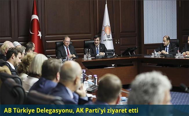 AB Türkiye Delegasyonu, AK Parti'yi ziyaret etti