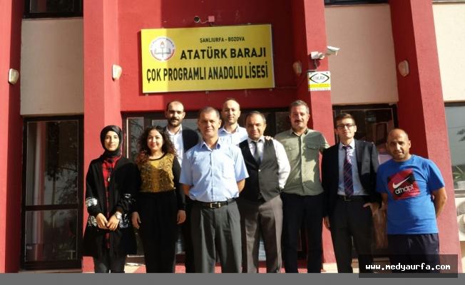 Atatürk Barajı Lisesi'den Büyük Başarı