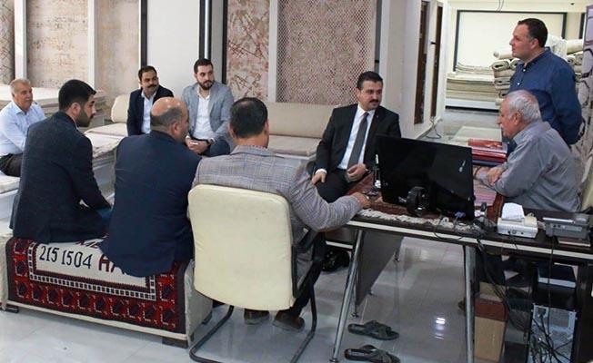 Başkan Yıldız Ahde Vefa Ziyaretleri Kapsamında Programını Tamamladı