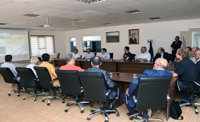 Bilim Adamları Hilvan Belediyesini Ziyaret Etti