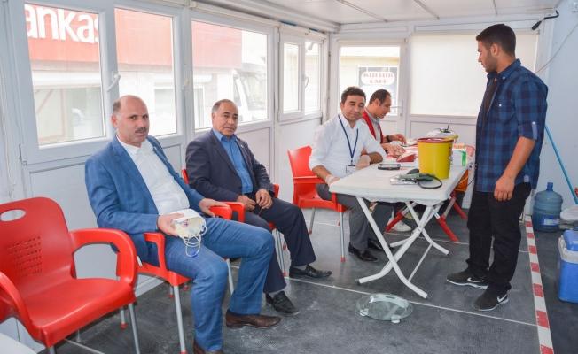 Kan Bağışı Kampanyasına Ceylanpınar'dan Destek