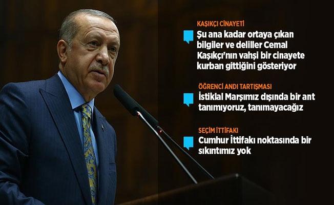 Cumhurbaşkanı Erdoğa; 'Biz de 'Herkes Kendi Yoluna' Deriz'