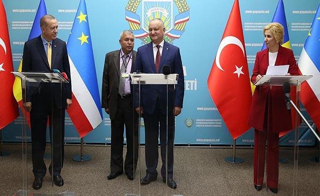 Cumhurbaşkanı Erdoğan: Moldova'nın Toprak Bütünlüğü Bizim İçin Hayati Önemde