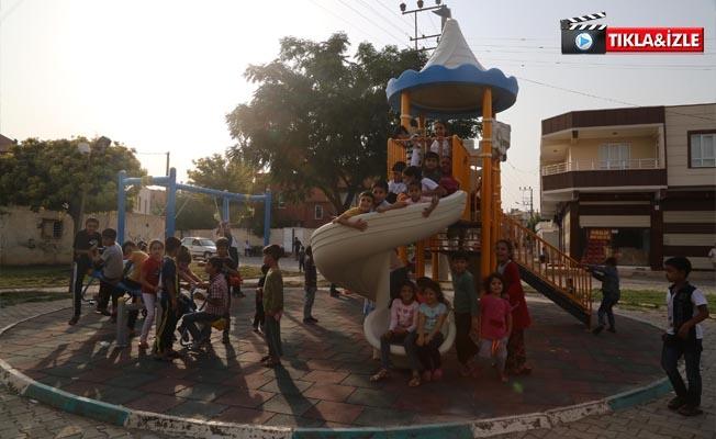 Haliliye Belediyesinden  Çocuklar İçin Yeni Oyun Grubu