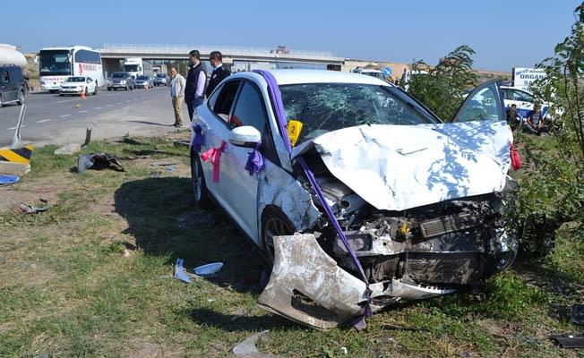 Karaköprü'de Trafik Kazası 3 Yaralı