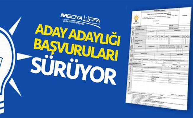 AK Parti'de aday adaylığı başvuruları sürüyor!